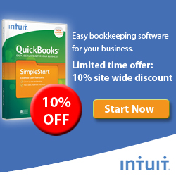 Save 10% on All QuickBooks Products