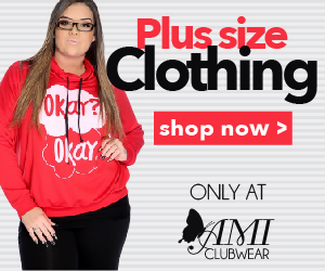 Shop AMIclubwear.com for great deals on fashionable Plus Size Clothing.