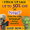 Save $5 on $15 or more at SpiritHalloween.com