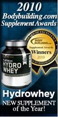 Optimum Platinum Hydrowhey 2010 New Supplement of