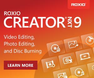 Roxio Creator NXT 6