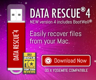Data Rescue 3 DIY Data Recovery Software