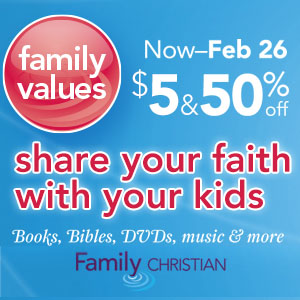 $5 & 50% Off Books, Bibles, DVDs, Music, and more