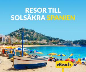 Resor till solsäkra Spanien