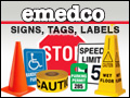 emedco signs tags labels