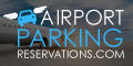 Small banner link to the airportparkingreservations.com home page from where users search for airport parking using airport, departure date and departure time drop downs.
