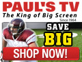 Buy your Big Screen TV from the King Of Screen