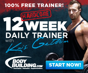 Kris Gethin 12 Week Daily Trainer 300x250