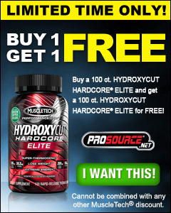 FREE Hydroxycut Hardcore Elite - MuscleTech