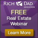 Rich Dad Education Real Estate Investing Webinar - Register Now!