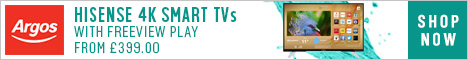 Save £220 on selected televisions