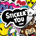 StickerYou Custom Die-Cut Stickers