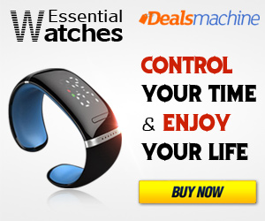 The Hottest Essential Watches at Dealsmachine.com: Control Your Time and Enjoy Your Life!
