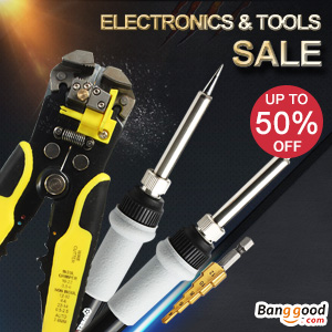 Electronics & Tools Sale Up to 50% OFF+Extra 12% OFF