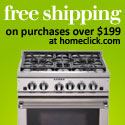 Free shipping on orders over $199 at HomeClick.com