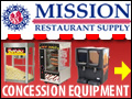Mission Restaurant Supply makes Great Concessions…