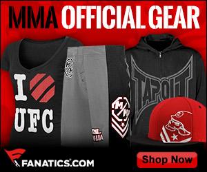 Shop MMA / UFC Gear at Fanatics!