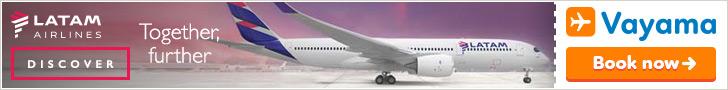 Vayama - Fly LATAM to South America