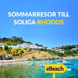 Sommarresor till soliga Rhodos