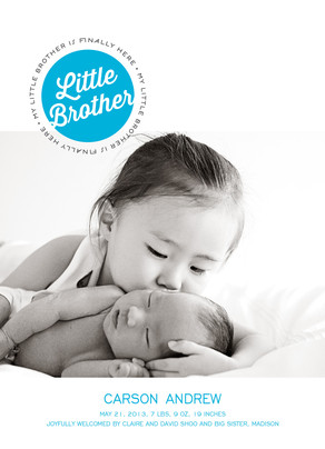 Welcome Little One! 30% off Birth Announcements at Cardstore! Use Code: CCE3030, Valid through 11:59