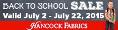234x60 Back To School Sale - Ends July 22nd