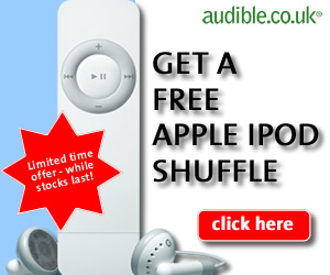 Get a FREE Apple iPod when you join Audible