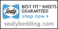 Sealy Best Fit Sheets -  Perfect Fit Everytime!