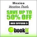 Save Up to 50% Mexico with Book It