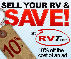 Discount RV Ads - 10% Off RVT.com Ad