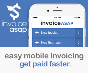 InvoiceASAP: easy mobile invoicing – Free Trial