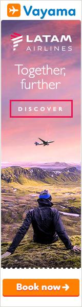 Vayama - LATAM Airlines: Flights to South America