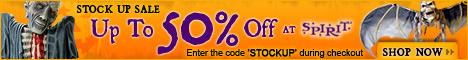 Save 25% off all masks at SpiritHalloween.com