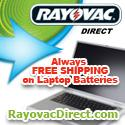 Free Ship on Laptop Batteries