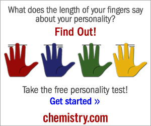 What does the length of your finger say? 300x250