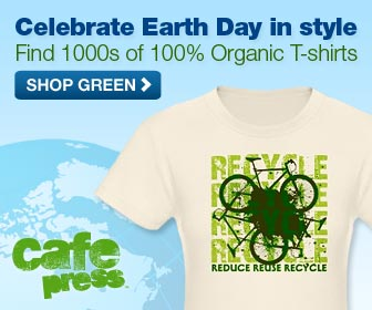 Celebrate Earth Day in style - 100% Organic Tees