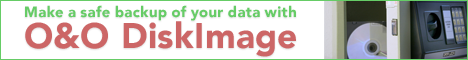Make a safe backup with O&O DiskImage