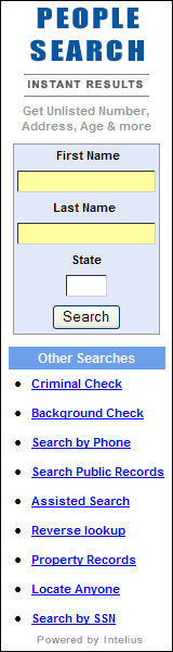 People Search - Instant Results