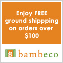 Bambeco Free Shipping on orders over $100