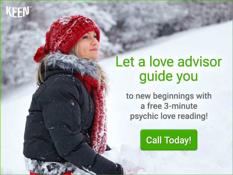 Let a love advisor guide you to new beginnings with a free reading! Get 3 minutes FREE!