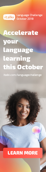 Accelerate your language learning this October