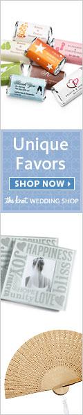 Unique Favors at The Knot Wedding Shop