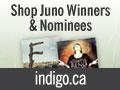 Juno Awards Shop Now Open