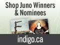 Juno Awards Shop Now Open