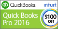 QuickBooks Pro 2015 Software - Enjoy $50 off! Save Time & Get Organized!
