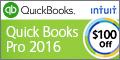 QuickBooks Pro 2015 Software - Enjoy $50 off! Save Time & Get Organized!