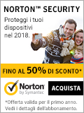 Norton Security - 50% di sconto