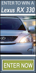 Win a Lexus RX 330 or $50,000