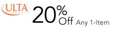 20% off 1 item