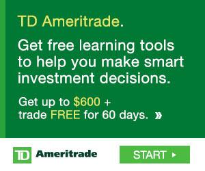 best online broker td ameritrade