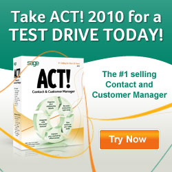 Take ACT! 2010 for a Test Drive Today!